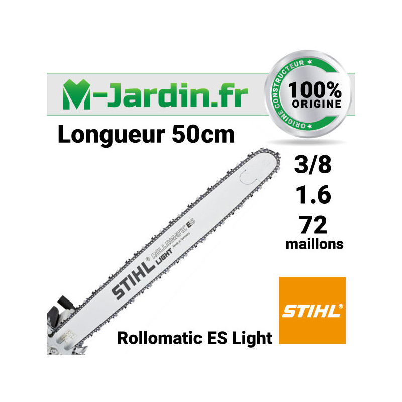 Guide Stihl Rollomatic ES Light 50cm | 3/8 - 1.6