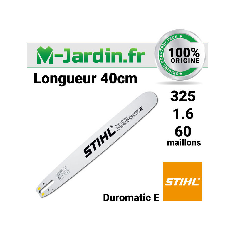Guide Stihl Duromatic E 40cm | 325 - 1.6