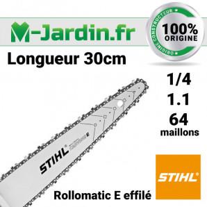 Guide Stihl Éffilé 30cm | 1/4 P - 1.1